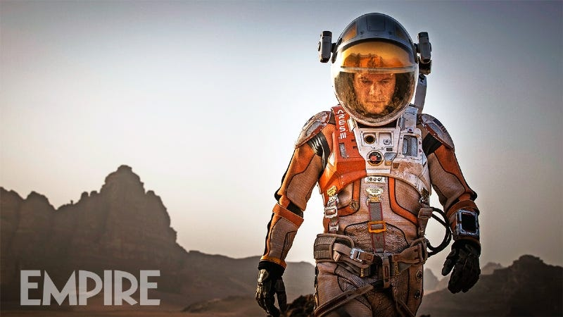 Illustration for article titled First Look At Matt Damon As The Martian