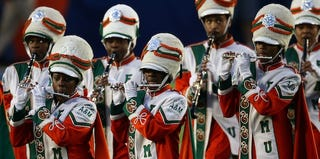 The FAMU Marching 100 Band (Win McNamee/Getty Images)
