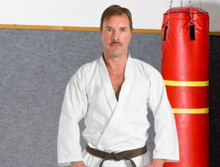 Illustration for article titled Self-Defense Instructor Simulates Attacker Right Down To Erection