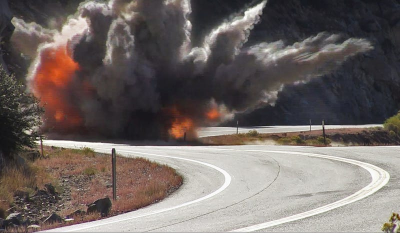 Boom! (Image: Caltrans District 9)