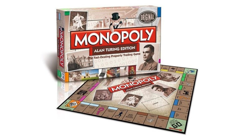 Illustration for article titled Celebrate Computer Science While You Play Alan Turing Monopoly