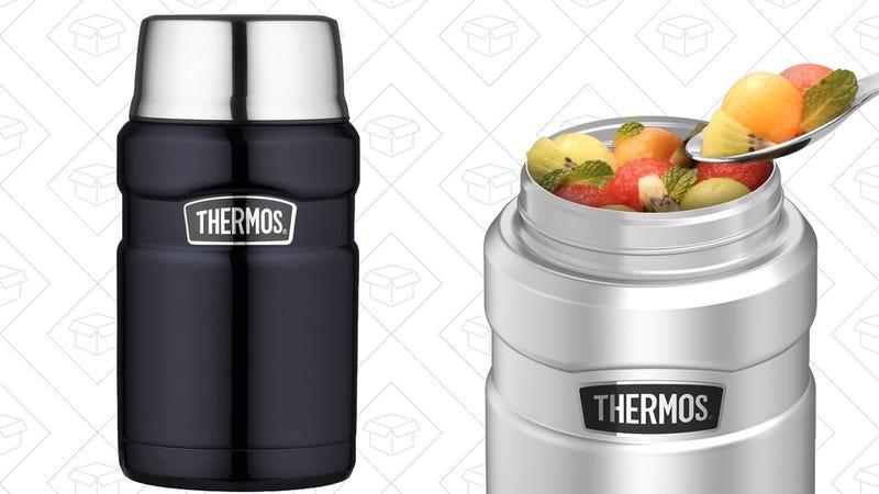 24 oz. Thermos Food Jar, $20   16 oz. Jar with Folding Spoon, $20