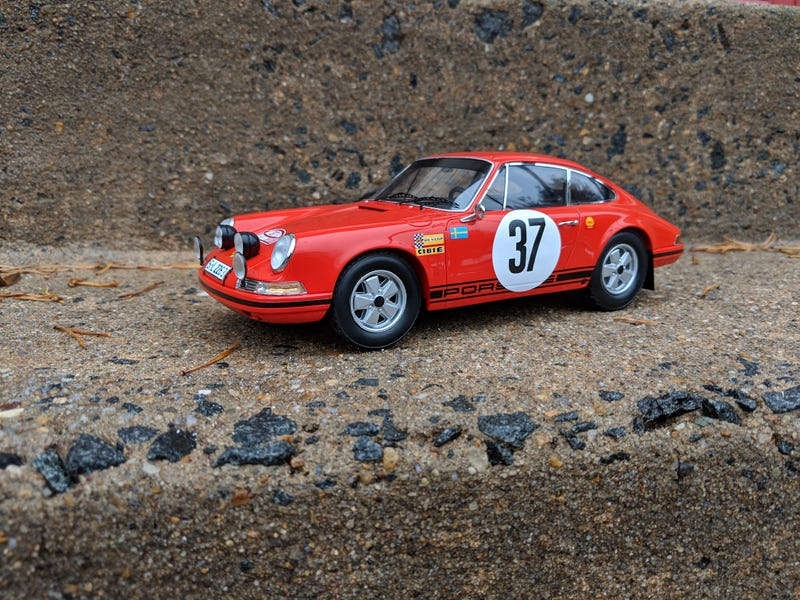 Illustration for article titled Teutonic Tuesday: 1969 Rally Monte Carlo Winning Porsche 911S