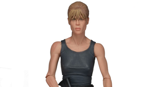 Illustration for article titled NECA's First Ever Sarah Connor Figure Is Totally Badass