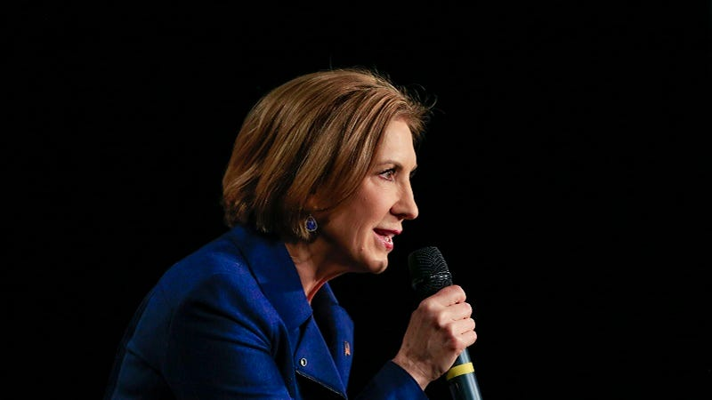 Illustration for article titled Carly Fiorina Calls Planned Parenthood Shooter a 'Protester,' Decries 'Left-Wing Tactics'