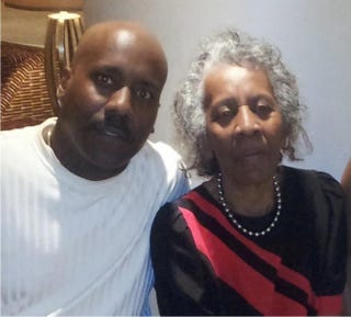 Todd Shurn and his mother, Alice Shurn, at her Delta Sigma Theta Sorority convention in 2013Courtesy of Todd Shurn
