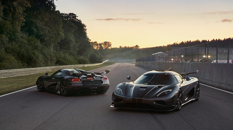 Illustration for article titled Koenigsegg Is Naming Their Last Two Ageras After Badass Movie Characters