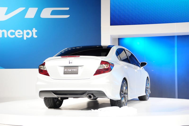 Illustration for article titled Honda Civic Concepts Gallery