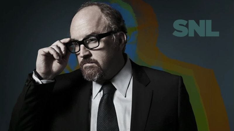 """Illustration for article titled Watch Louis C.K. appreciate shirtless """"Earth guys"""" in an unaired SNL sketch"""