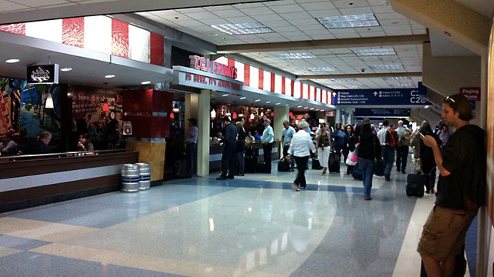 Sydney Airport International Travel Liquids