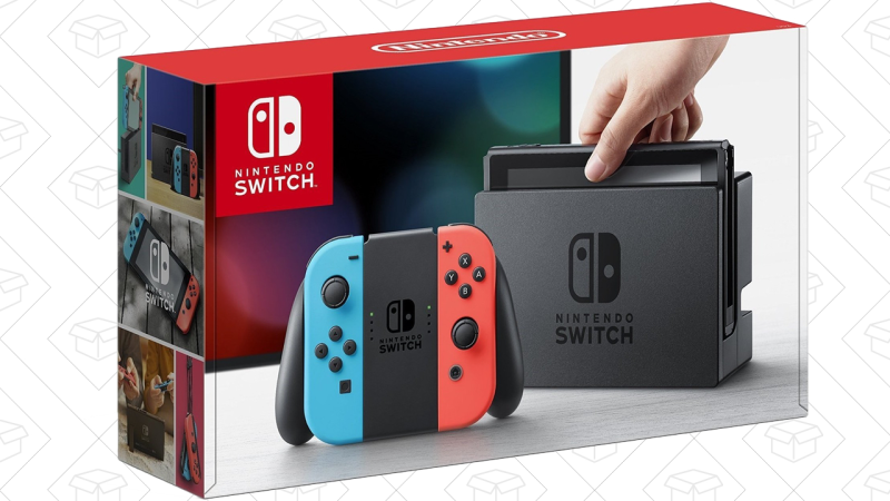 Nintendo Switch (Neon), $300