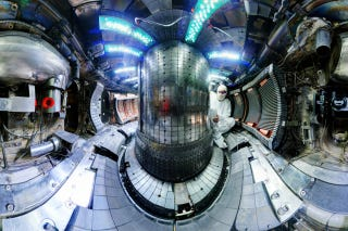 Interior of the Alcator C-Mod fusion reactor at MIT, which was shut off on September 30th. Image: Bob Mumgaard/Plasma Science and Fusion Center/MIT