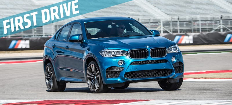 Illustration for article titled The 2015 BMW X6 M Is A 567 Horsepower Answer To A Question No One Asked