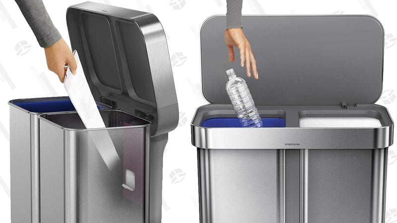 Save $40 On simplehuman's Ultimate Kitchen Trash Can