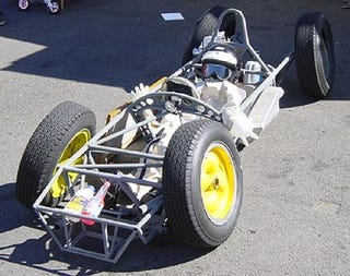 Illustration for article titled First Shots Of Budget Cap F1 Car For 2010