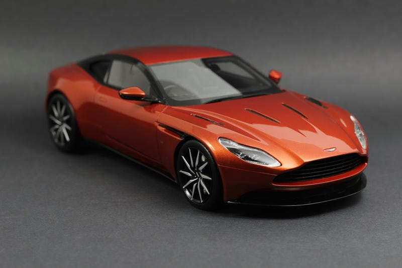 Illustration for article titled Aston Martin DB11 in 1/18 scale from TopSpeed