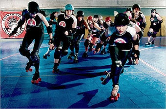 """Illustration for article titled When Does """"Roller Derby Night In America"""" Start?"""
