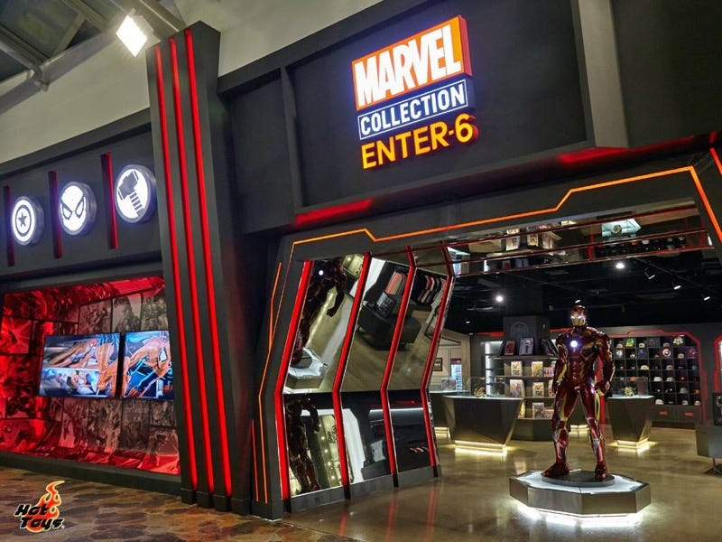 Illustration for article titled Marvel Collection Store Opens in South Korea