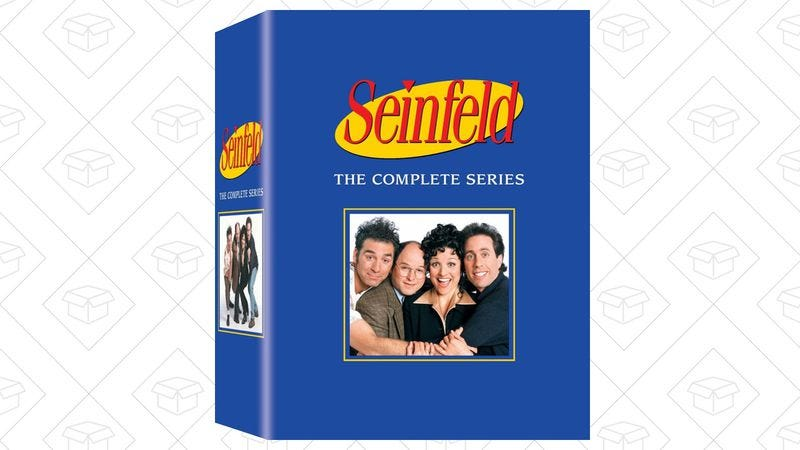 Illustration for article titled Saturday's best deals: A Seinfeld box set, $5 off any book, and more