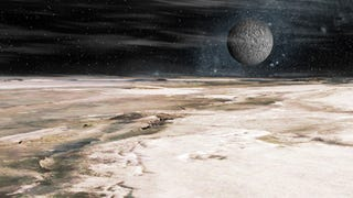 An Artist's Visit to Pluto