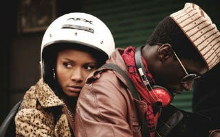 Restless City's Sy Alassane (right) and Sky Nicole Grey (Clam Productions)
