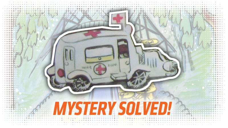 Illustration for article titled Everyone Can Relax Because I've Definitively Identified The Ambulance In Madeline
