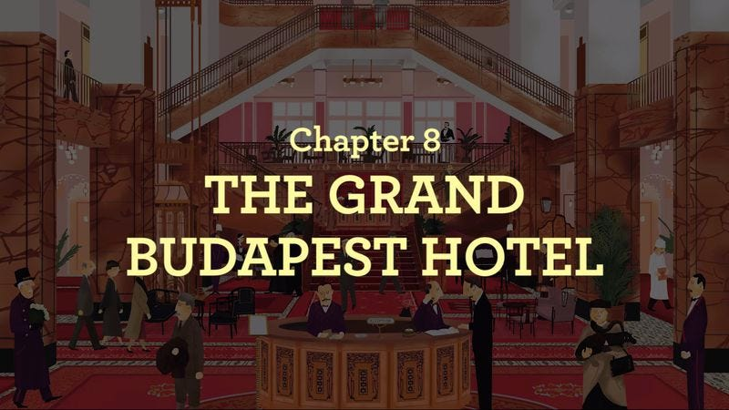 Illustration for article titled New video from author of The Wes Anderson Collection digs into The Grand Budapest Hotel