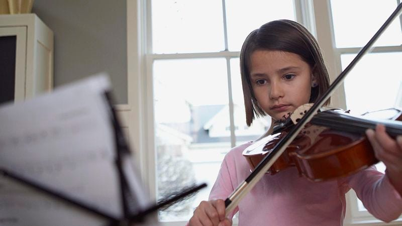 Illustration for article titled Parents Wish Weak-Willed Daughter Would Push Back Against Violin Lessons Just A Little