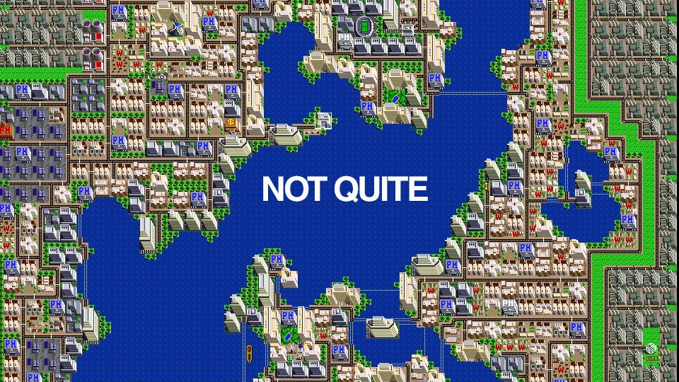 an actual urban planner takes on the original simcity rh kotaku com Sonic 4 SNES SNES SimCity Strategy