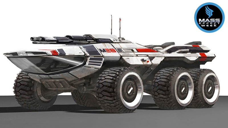 Illustration for article titled Mass Effect's Awkward Land Rover Was Goofy, But It Made The Game Better