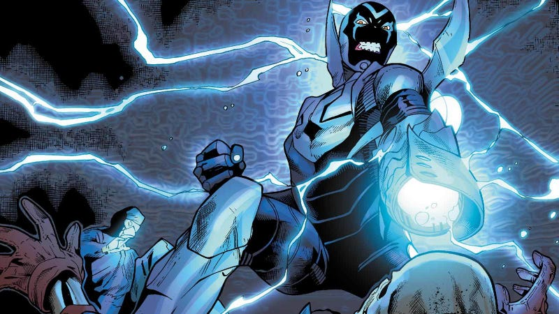 Illustration for article titled Blue Beetle will be the first DCEU movie with a Latino lead
