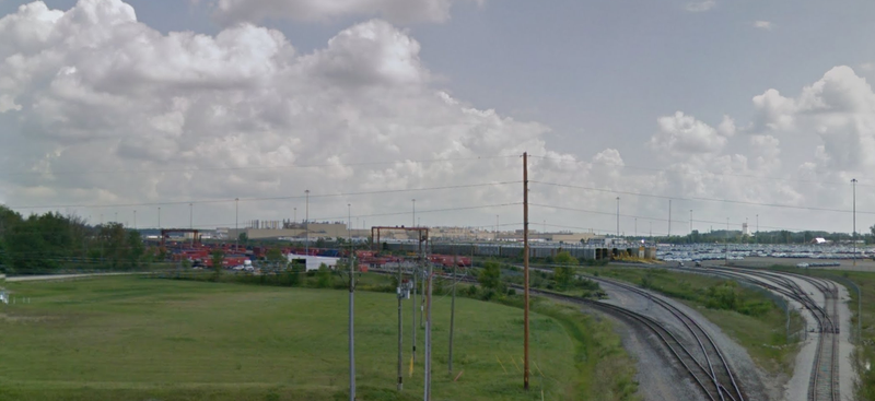 A view of Honda's Ohio plant in question taken from a nearby Google Street View
