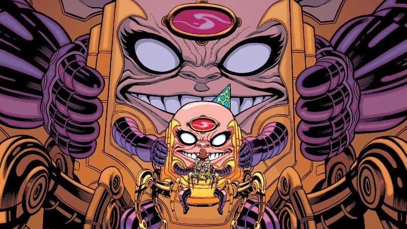 Illustration for article titled Secret Avengers #8 casts M.O.D.O.K. as Marvel's strangest romantic lead