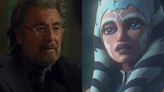 Al Pacino hunts Nazis, and Star Wars: The Clone Wars returns for one last season