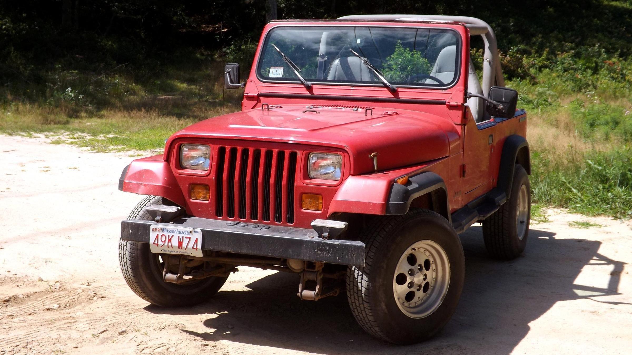 1990 jeep wrangler the oppositelock review. Black Bedroom Furniture Sets. Home Design Ideas