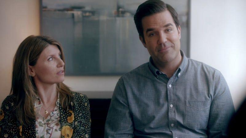 Sharon Horgan (left), Rob Delaney (Screenshot: Amazon)