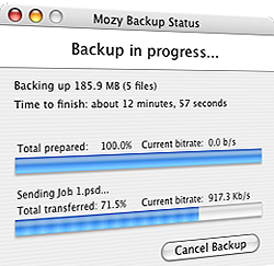 Illustration for article titled Download of the Day:  Mozy (Windows/Mac)