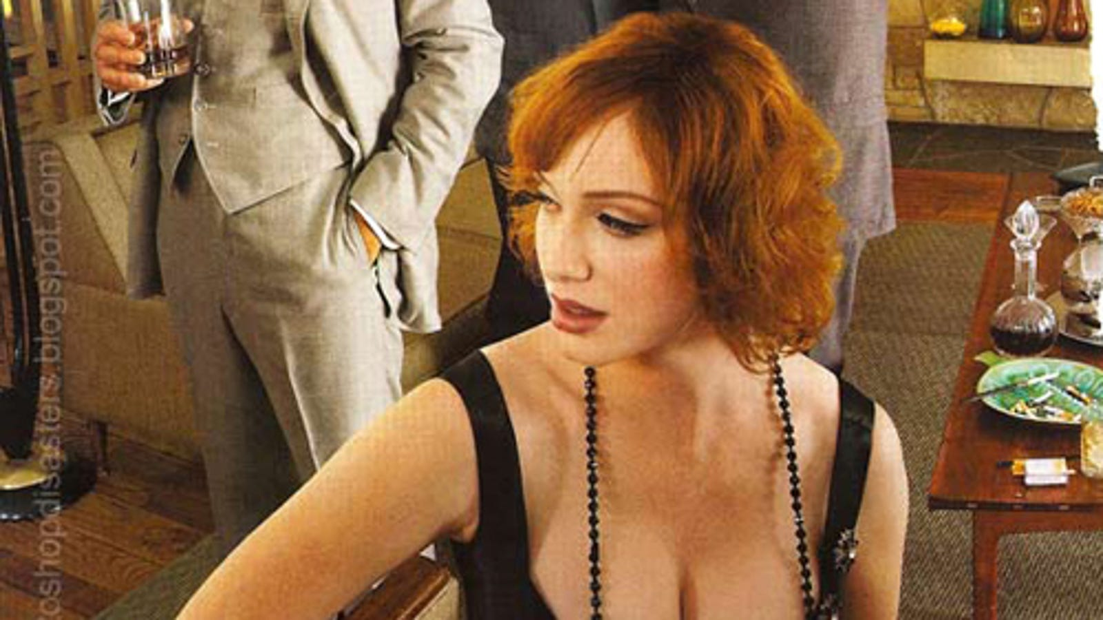 Another Christina Hendricks Photoshop: Just A Pair Of Tits