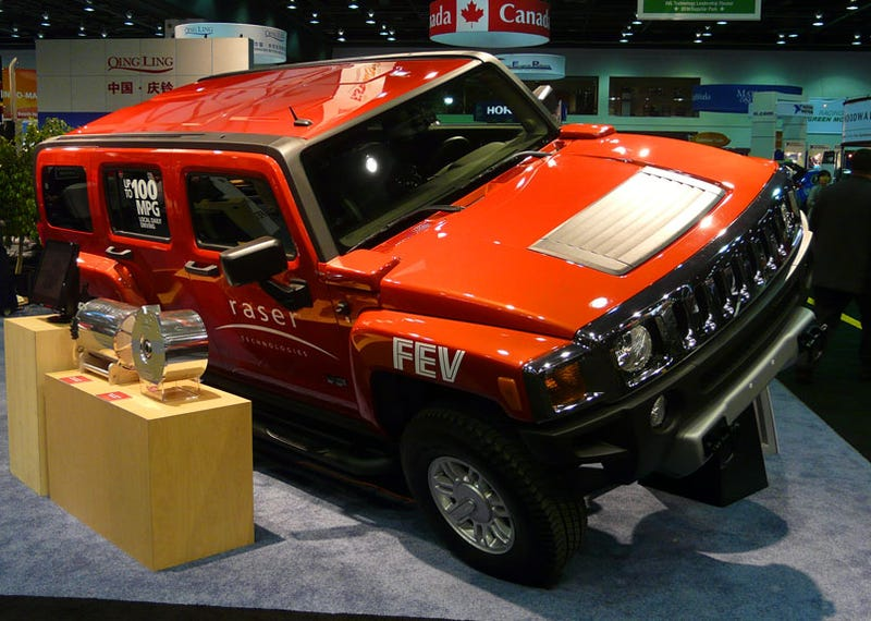 100 Mpg Electric Hummer H3 Doesn T Actually Get