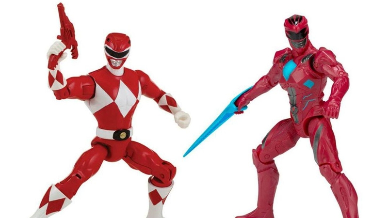 Illustration for article titled These 'Then and Now' Power Rangers Action Figure Sets Are Not Doing the Movie Any Favors