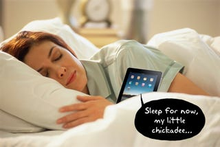 Illustration for article titled Experts: Kindle Helps You Sleep, iPad Causes Insomnia