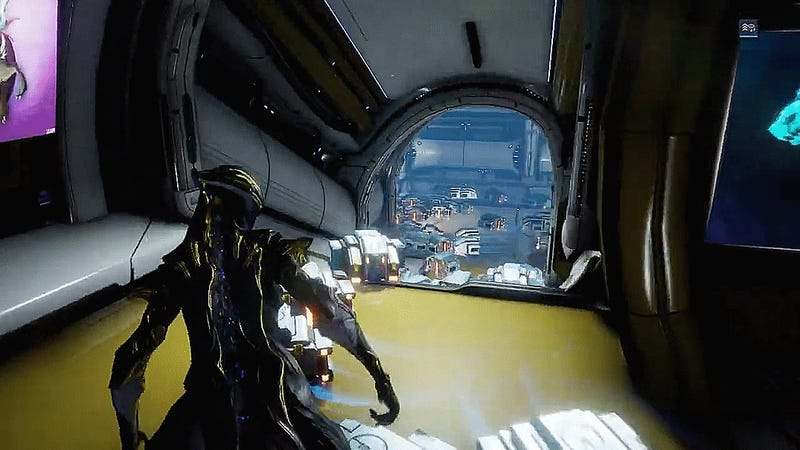 Warframe Players Love Their New Space Roombas