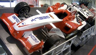 Illustration for article titled Geely GF Formula Racer Is Actually Real