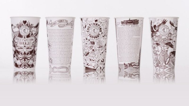 Illustration for article titled Chipotle adds short stories by George Saunders and Jonathan Safran Foer to your burrito