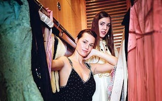 Illustration for article titled Amber Le Bon Raids Model Mom's Closet; Sienna To Vogue?