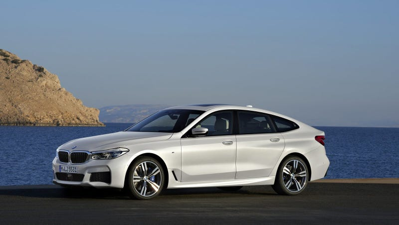 Illustration for article titled BMW Ruined The 6 Series Name With Another Ugly GT Hatchback