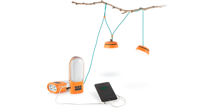 Illustration for article titled BioLite's New Lanterns Are a Tiny Powergrid For Your Campsite