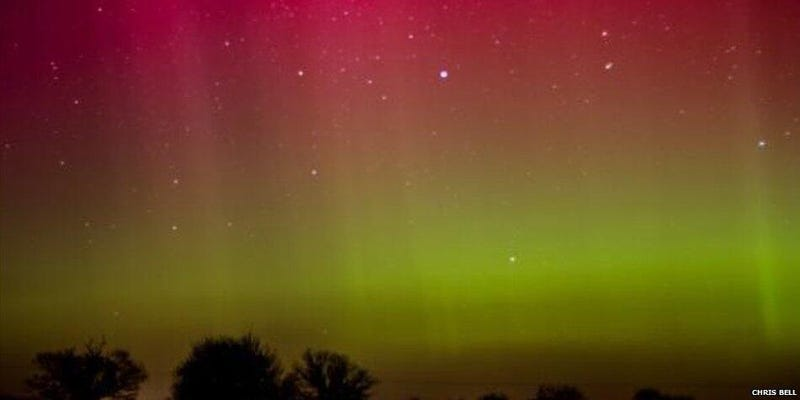 Illustration for article titled Amazing Views of Last Night's UK Aurora Show