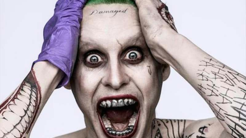 Illustration for article titled Jared Leto's Joker is definitely down to clown