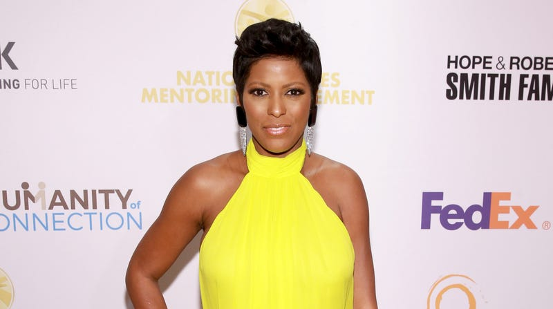 Tamron Hall attends the National CARES Mentoring Movement 4th Annual For The Love Of Our Children Gala on February 11, 2019 in New York City.